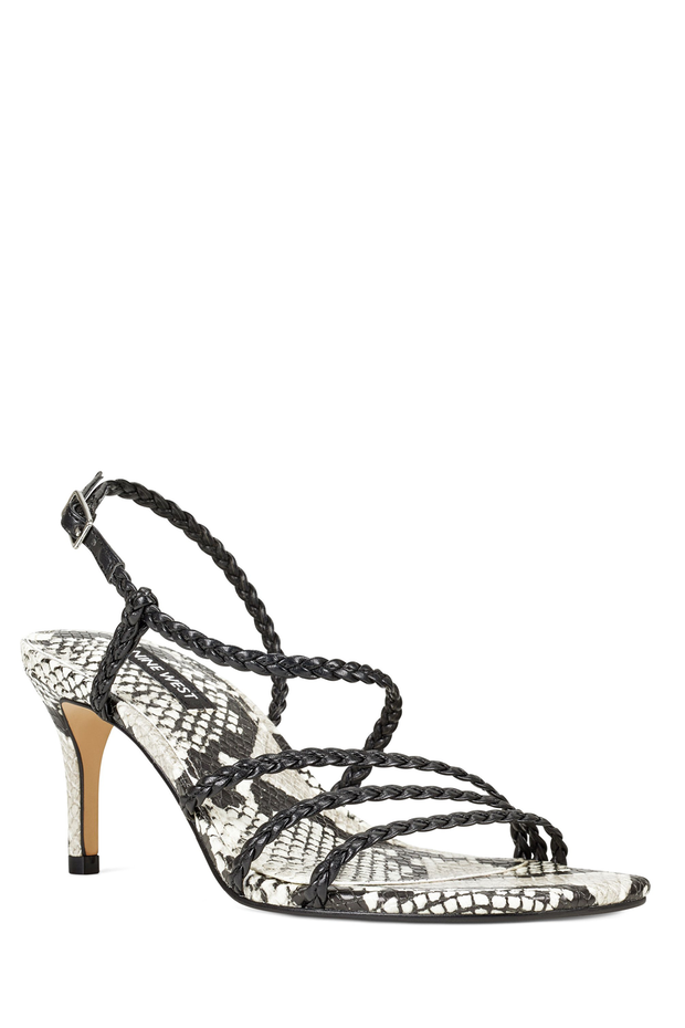 GAME2 NINEWEST BLACK SANDAL