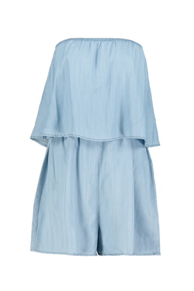 Mari Chambray Romper k1brm1953 BY BISHOP AND YOUNG  https://shoptrixie.com/products/mari-chambray-romper-k1brm1953  The Mari from Bishop + Young is an effortless and adorable romper with the perfect drape on the body. Featuring a loose short and unique top that makes this feel more like a complete top and short outfit than a typical romper. 100% Tencel