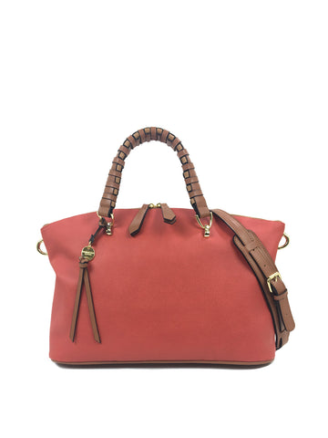 Quinn Satchel In Terracotta