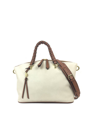 Quinn Satchel In Ivory