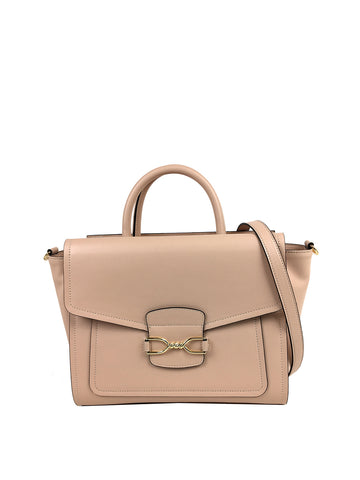 Bailey Satchel In Taupe
