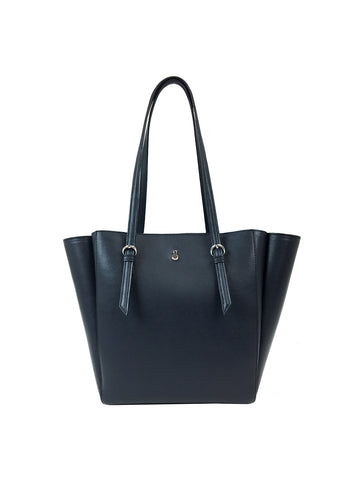 Lilah Magazine Tote In Navy