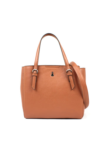 Lilah Satchel In Cognac