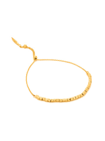 Laguna Adjustable Bracelet In Gold