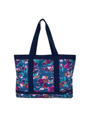 Captians Quarter X-Large Tote In Floral Print
