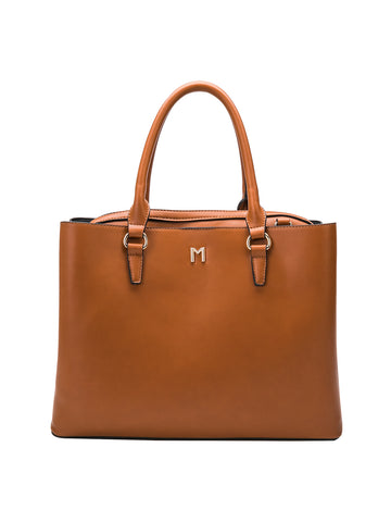 Zoe Tote In Saddle