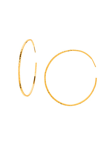 Taner XL Hoops In Gold