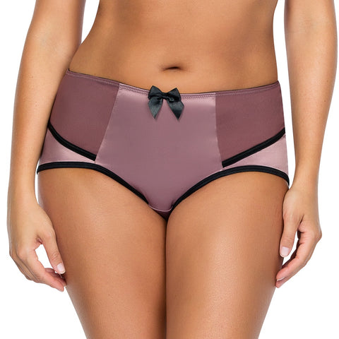 Charlotte Highwaist Brief in Woodrose