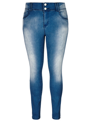 Apple Skinny Jean Short - Light