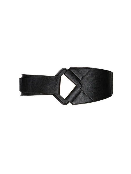 NEW! - Faux Leather Fold Over Belt