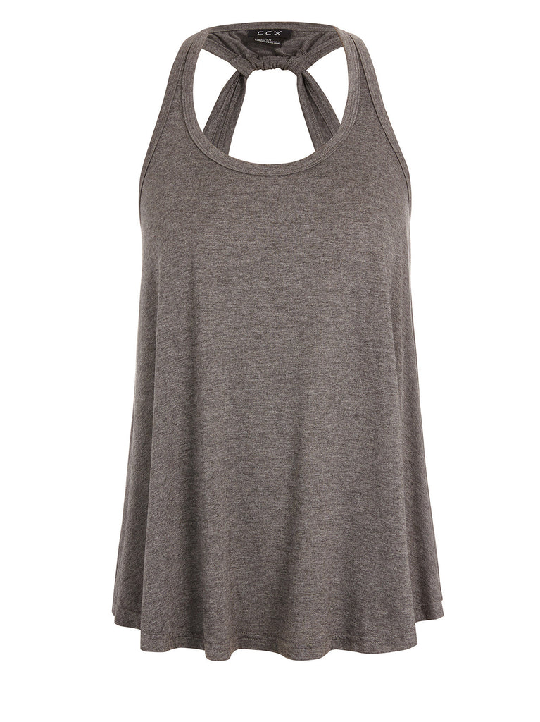 New! - Twist Back Tank