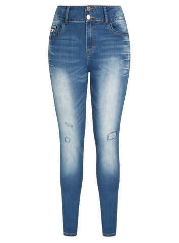 New! - Ocean Apple Sk Jean
