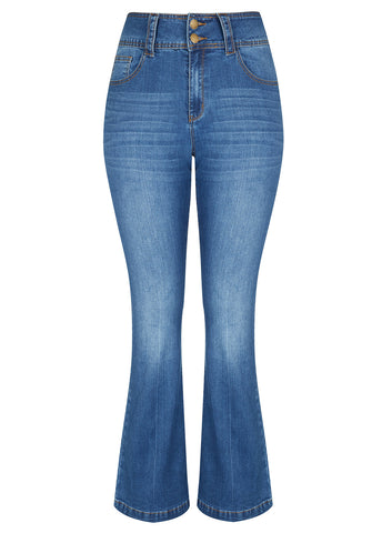 New! - 70S Gal Flare Jean
