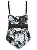 Floral Under Wire One Piece