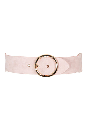 New! - Hoop Sueded Belt