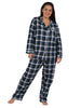 Flannel Plaid PJ Set
