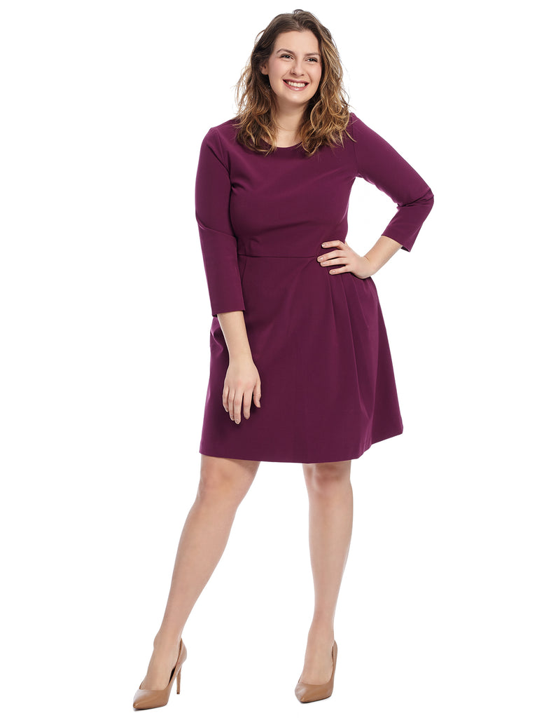 Dark Fuchsia Rodney Dress