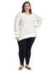 Lurex Dot Sweater