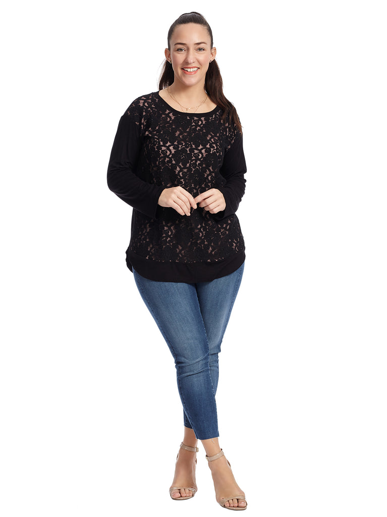 Lace Detail Sylvie Top