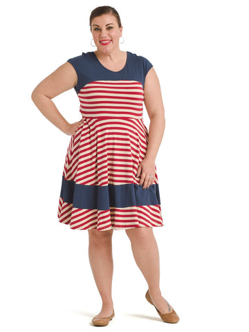 Nautical Stripe Napoli Dress