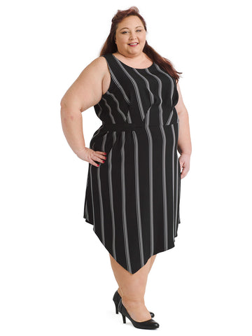 Rina Striped Dress