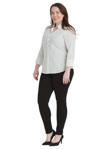 Star Dot New Stretch Dress Shirt