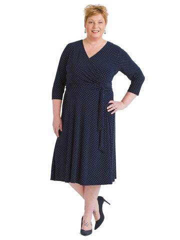 Alchemy Dot Jersey Dress