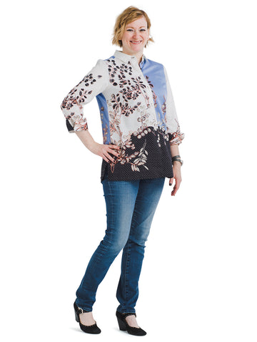 Flowing Florals Libby Dress Shirt