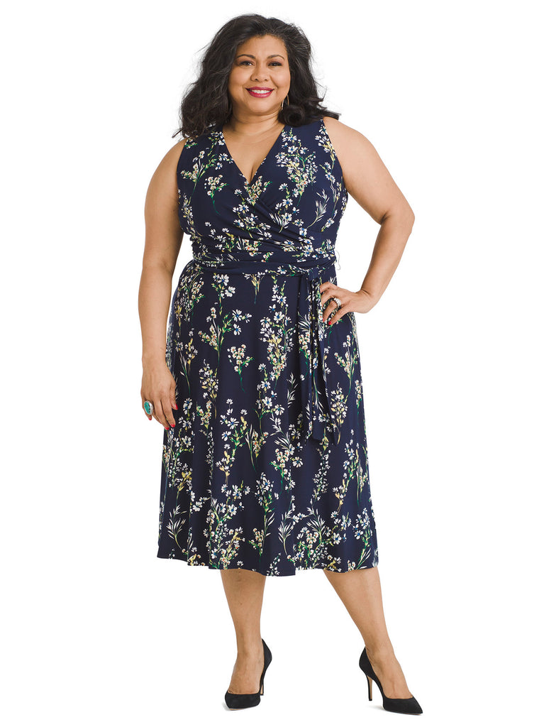 Stowe Floral Jersey Dress
