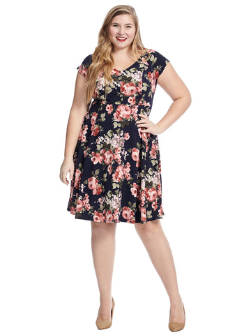 Date Night Done Right Floral Dress