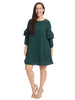 Green Shift Dress