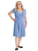 Pebble Blue Sweetheart Dress