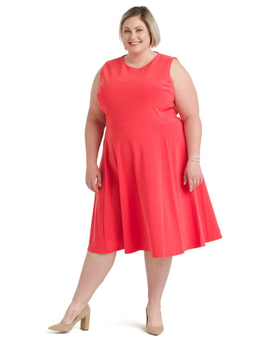 Poppy Fit And Flare Dress