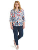 Collared Floral Popover Shirt