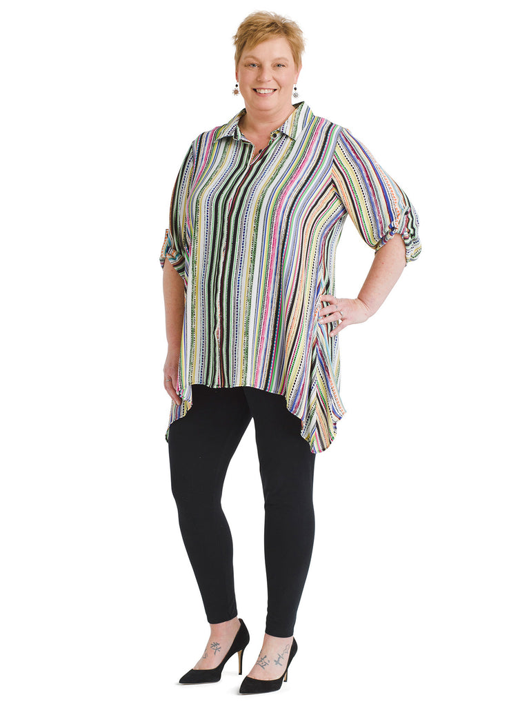 Sharkbite Striped Tunic