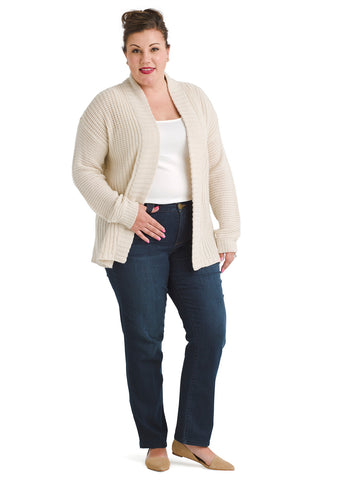 Shawl Collar Sand Cozy Cardigan
