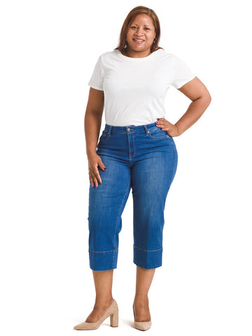 Wide Leg Ladera Crop Jeans