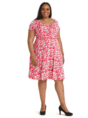 Amazonia Floral Sweetheart Dress