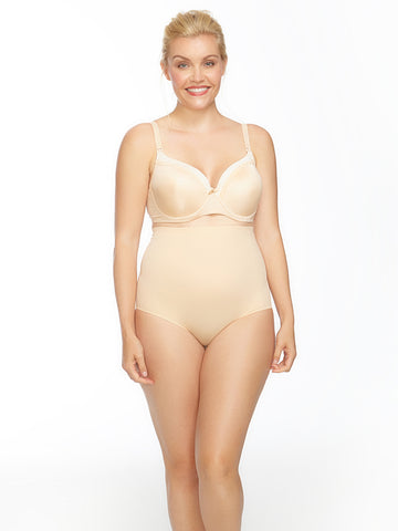 Suave High Waist Bonded Smoother In Nude