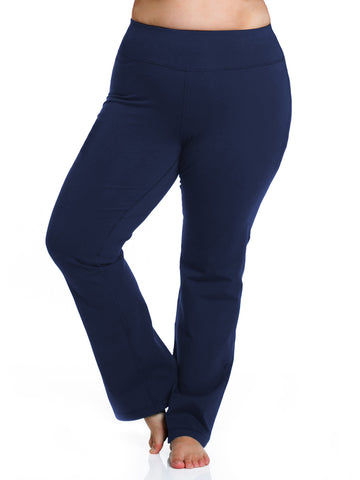 Basix Straight Leg Pant In Navy