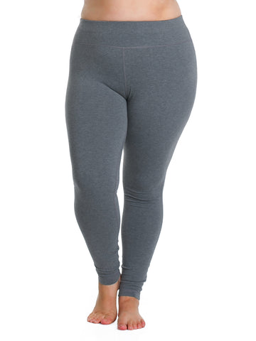 Basix Sport Tight In Charcoal Grey