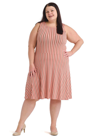 Heather Stripe Ava Dress
