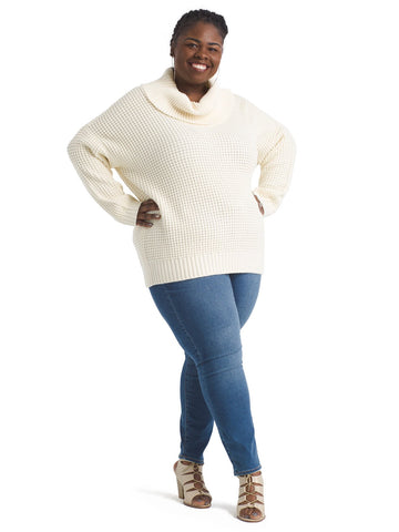 Oh My Cozy Cowl Neck Sweater