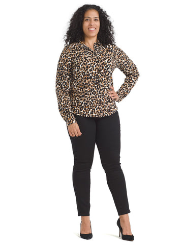 Long Sleeve Leo Jada Blouse
