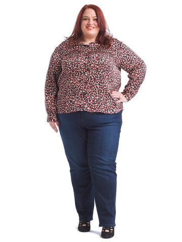 Mod Cheetah Monday to Sunday Blouse