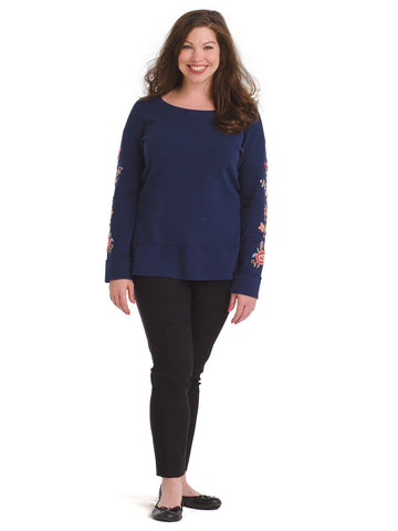 Embroidered Tanner Thermal Top