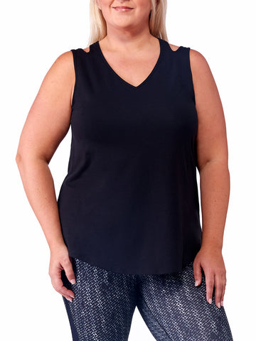Annabel Tank In Black