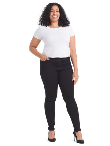 High Rise Black Mia Skinny Jeans