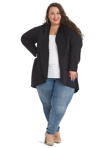 Black Morrison Cozy Cardigan