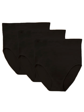 Seamless Panty 3-Pack In Black